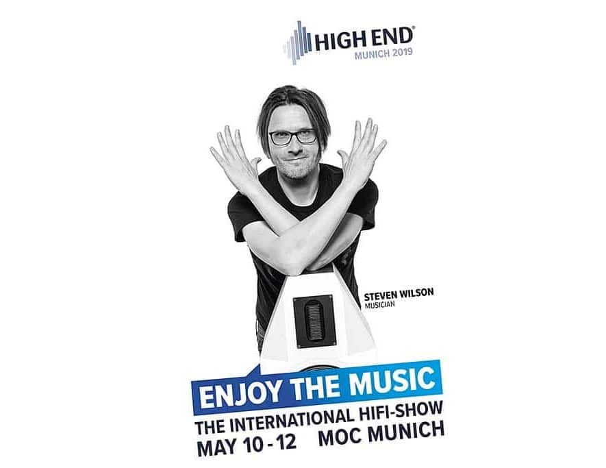 Steve Wilson 'brand ambassador' High End München