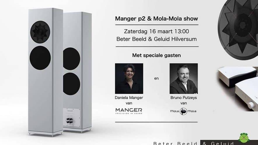 Manger p2 en Mola-Mola show bij Beter Beeld & Geluid met Daniela Manger en Bruno Putzeys