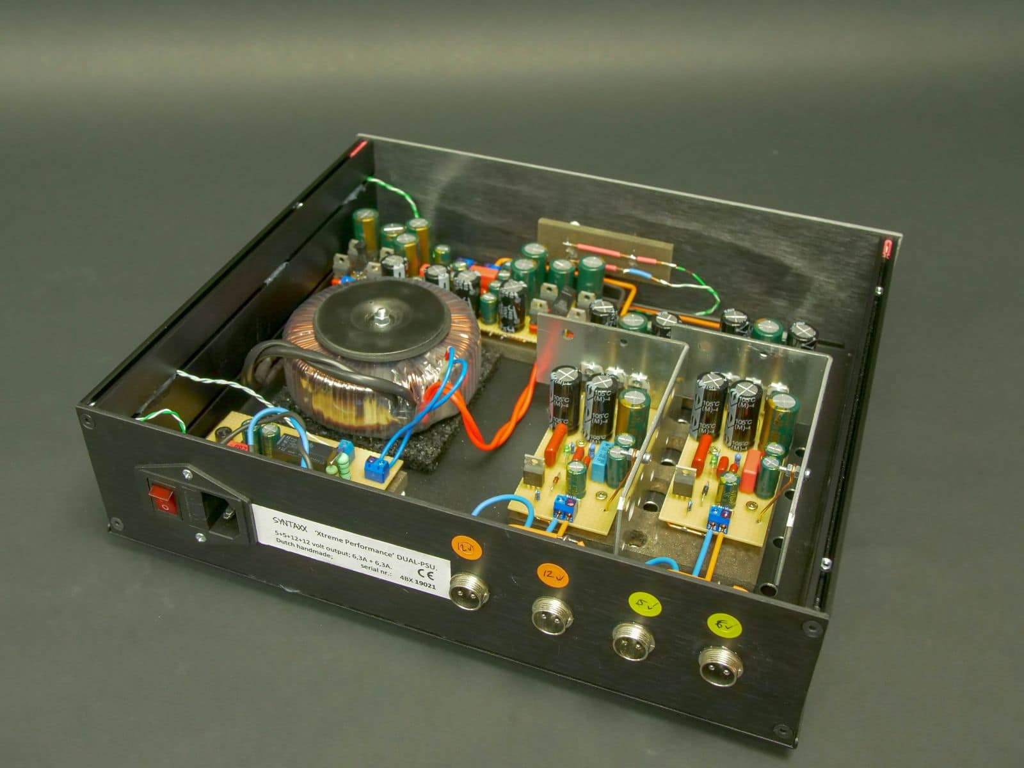 Syntaxx dual PSU