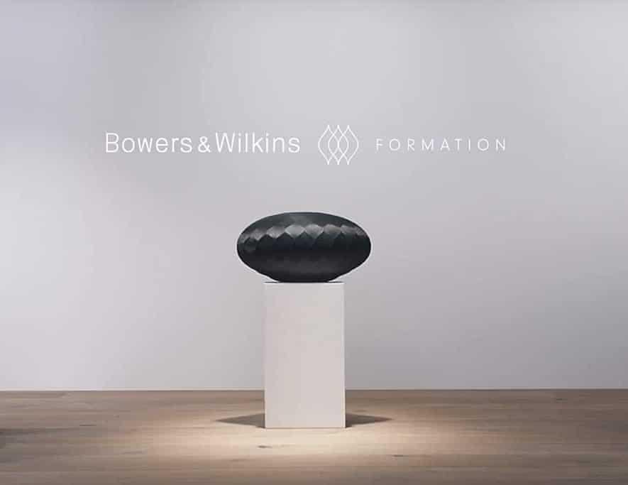 De landelijk eerste officiële Bowers & Wilkins Formation vindt plaats bij Poulissen