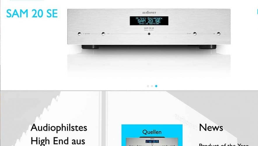 Audionet draait weer op volle toeren