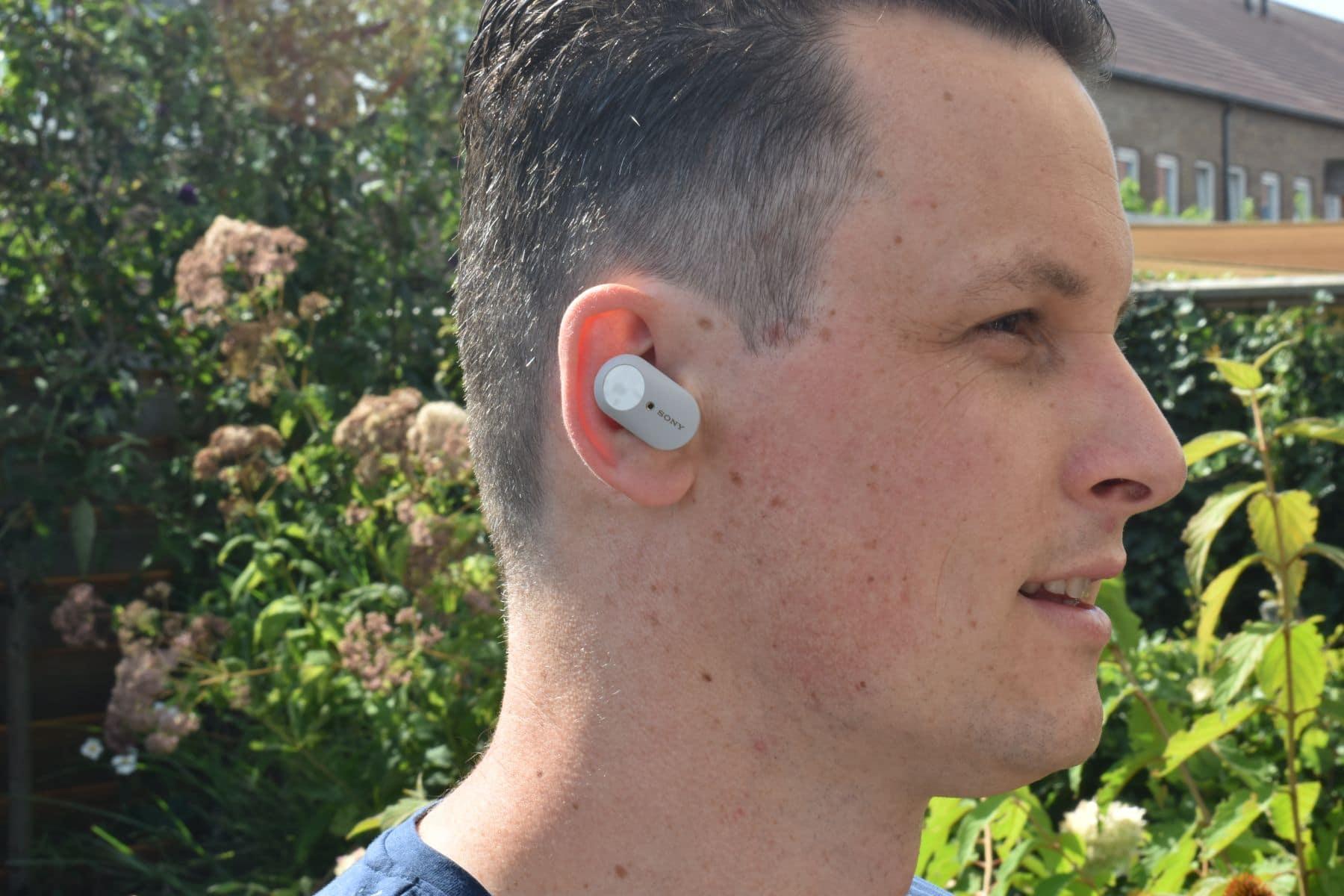 Sony WF-1000MX3 in het oor