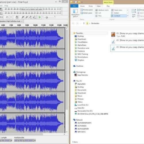 Files - wav - mp3 - flac